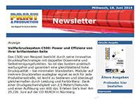 Vollfarbdrucksystem C500: Power und Effizienz von ihrer brillantesten Seite