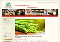 Spargel (lat. Asparagus officinalis)