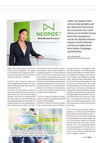 Neuer Look für Neopost<br><br>