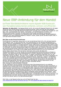 Neue ERP-Anbindung für den Handel
