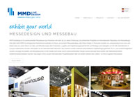 Firmen-Website Messebau