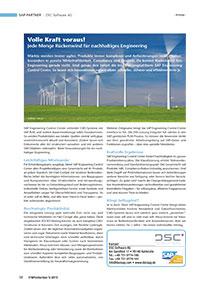 Volle Kraft voraus! – Jede Menge Rückenwind für nachhaltiges Engineering