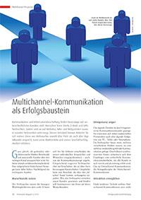 Multichannel-Kommunikation als Erfolgsbaustein