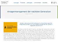 Anlagenmanagement der nächsten Generation