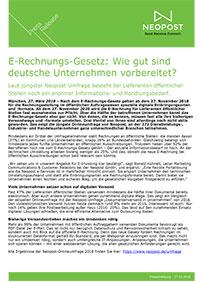 E-Rechnungs-Gesetz: Wie gut sind deutsche Unternehmen vorbereitet?