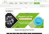 Neopost auf der FachPack 2019